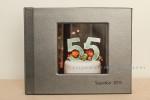 custom 8 by 10 inch leather bound album